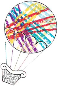 Summer Camp Balloon Logo tp