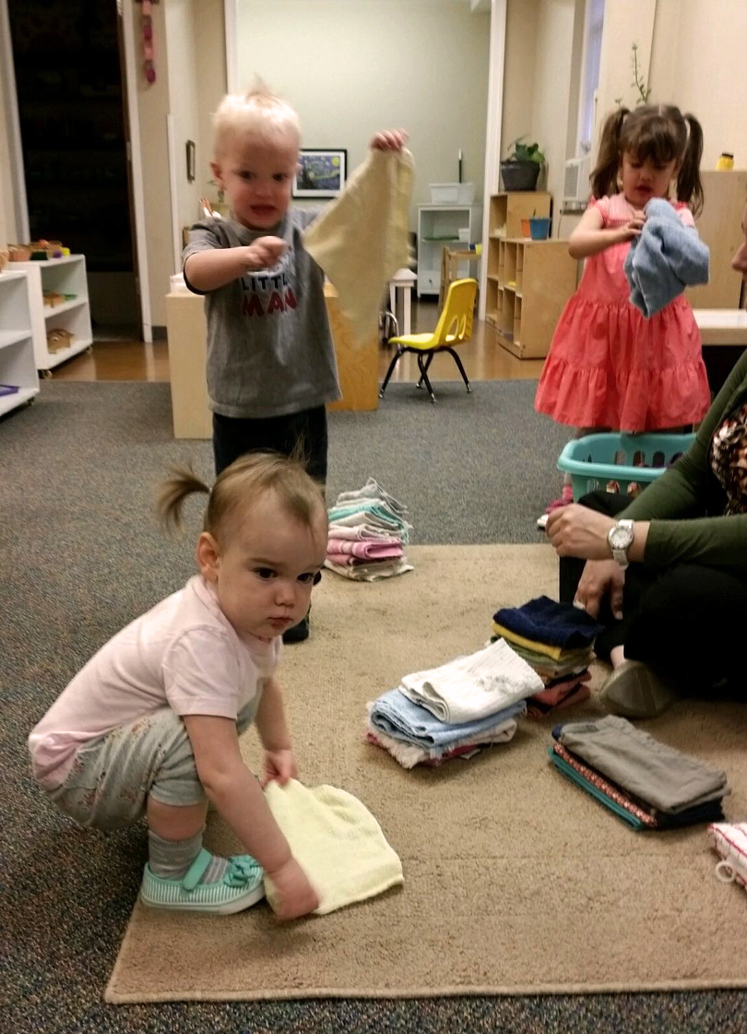 Classroom Design For Toddlers ~ Bringing it home part montessori co op school