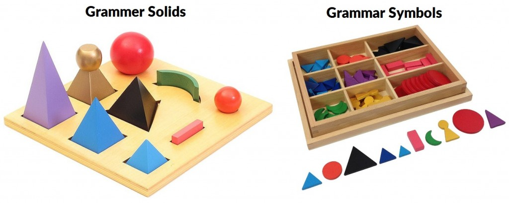 montessori grammar shapes